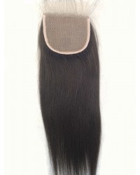 Yaki straight silk base top closure
