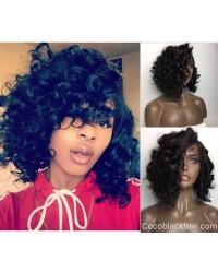 Emily13-Brazilian virgin wave bob 360 lace frontal wig