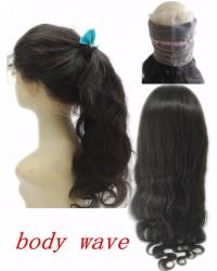 Brazilian Virgin body wave 360 Lace Frontal
