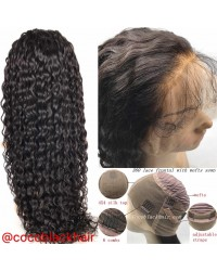 Emily- Brazilian virgin wet wave 360 lace frontal wig