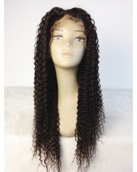 Helen- Chinese virgin curly hair full lace wig silk top