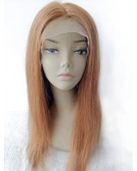 Patty-Burmese Virgin blonde color Glueless full lace wig