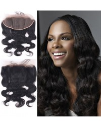 Brazilian virgin body wave lace frontal