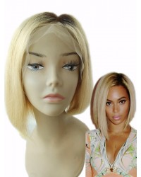 Tommie- Two Tone Ombre Bob hair Chinese virgin full lace Wig