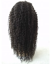 Lisa- Deep wave glueless full lace with silk top wig