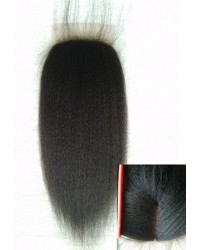 Italian yaki silk base top closure