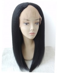 Julia- Kinky straight U Shaped wig
