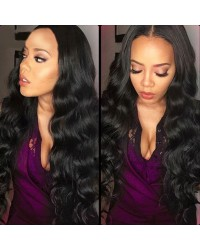 Judi-Brazilian virgin body wave full lace wig