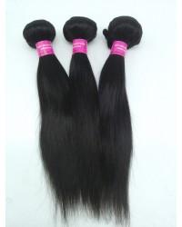 Malaysian virgin 3 bundles silky straight hair weaves