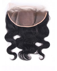body wave 13*4 lace frontal with 4*4 silk base