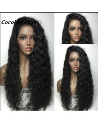 Joyce- Brazilian virgin wet wave full lace wig