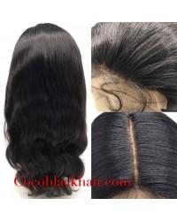 Joan- Brazilian virgin yaki body wave full lace wig