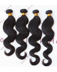 Brazilian virgin 4 bundles yaki body wave hair extensions