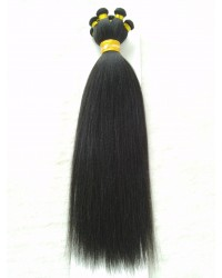Indian remy Yaki straight hand tied wefts