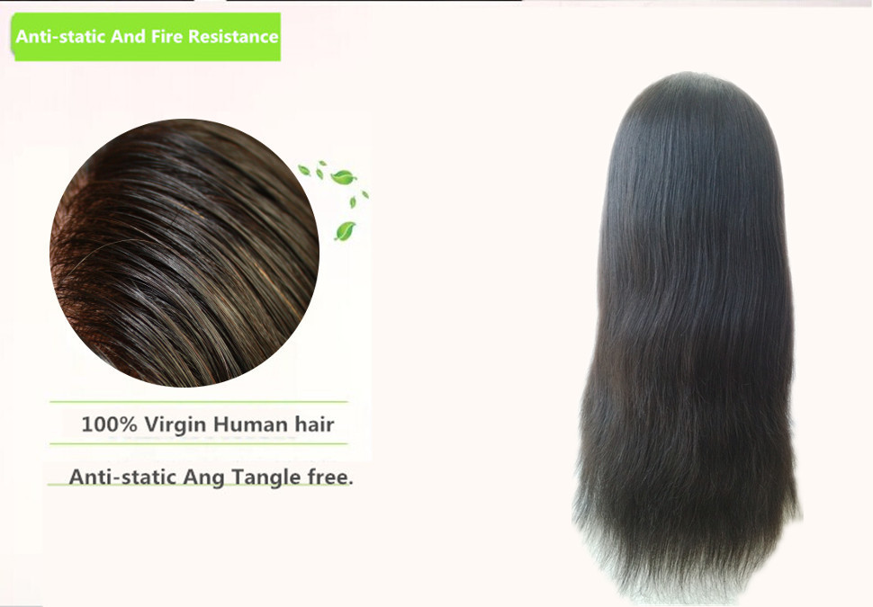 Kay U Part Hair Wigs Indian Remy Human Hair Wigs Silky